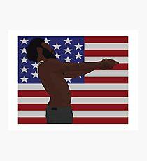 Childish Gambino - This Is America (Full Flag) Photographic Print