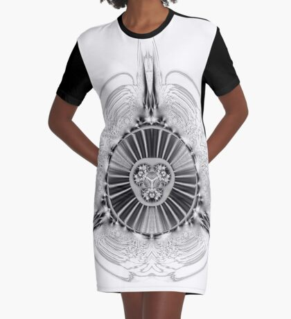 Amoeba 27 Graphic T-Shirt Dress