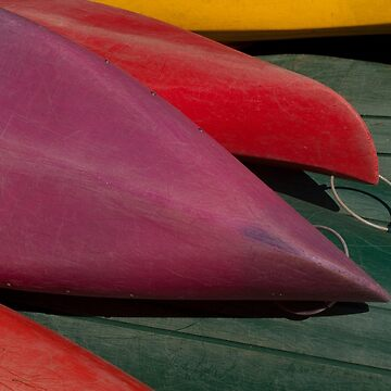 Canoe Hulls 4 by onmybike