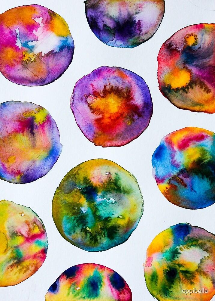 Watercolor spots by oppibella