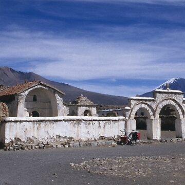 Church square, Lagunas, Bolivia by onmybike