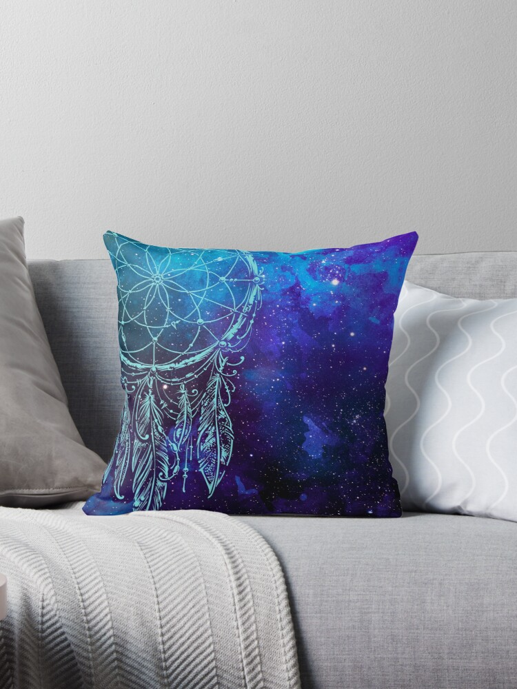 dreamcatcher over starry night by leighdarilek