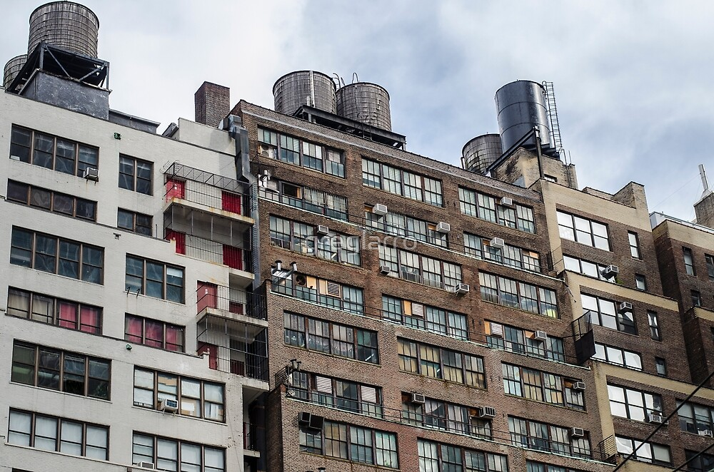 New York City Buildings by greglarro