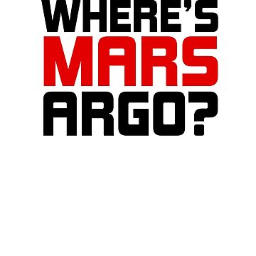 Where's Mars Argo? by Nymerria