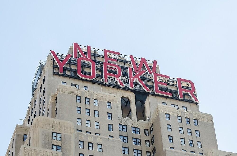 Building in New York by greglarro