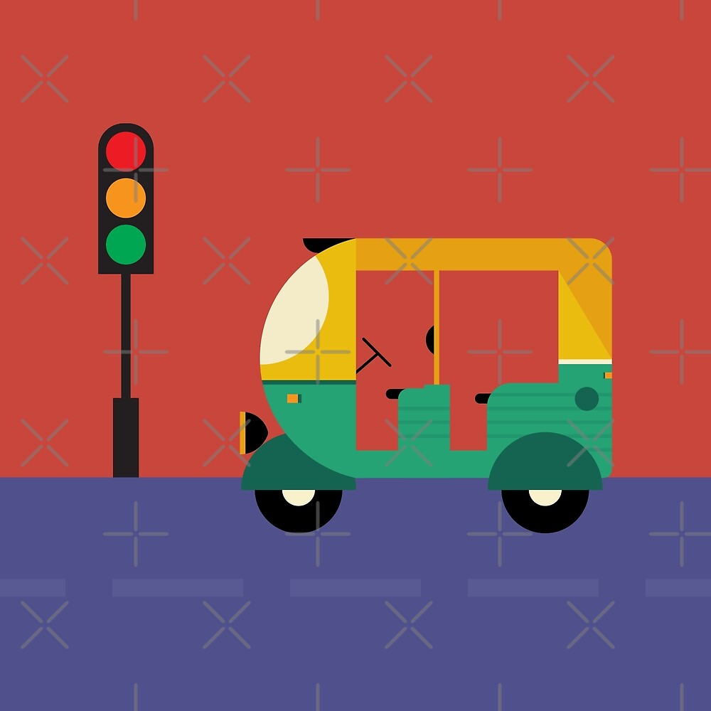 tuk tuk auto by TM Selvam