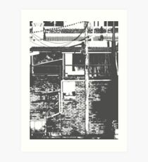 Alley Notes Art Print
