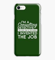 Sherlock - Consulting detective iPhone Case/Skin