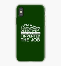 Sherlock - Consulting detective iPhone Case
