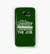 Sherlock - Consulting detective Samsung Galaxy Case/Skin