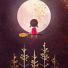 A Little Night Wanderer by annisatiarau