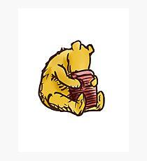 WINNIE THE POOH - Pooh Bear & honey pot  Photographic Print