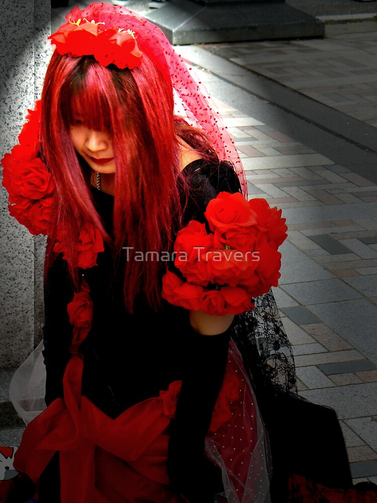 Lady in Red by Tamara Travers