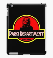 Parks Department iPad Case/Skin