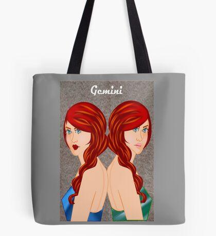 Gemini : Zodiac Sign (7450 views) Tote Bag