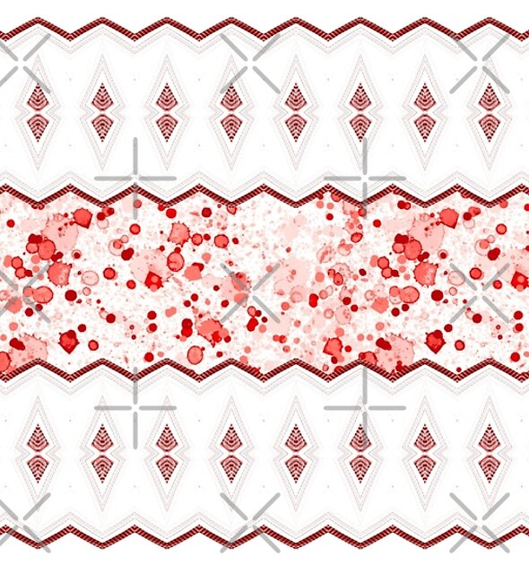Marquee in Red and White by TeAnne