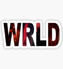 WRLD Sticker