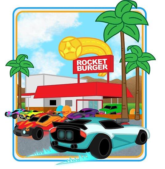 Rocket Burger by AnanaExpress