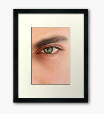 In Your Eyes Framed Print
