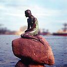 The Little Mermaid, Copenhagen Harbour by Priscilla Turner