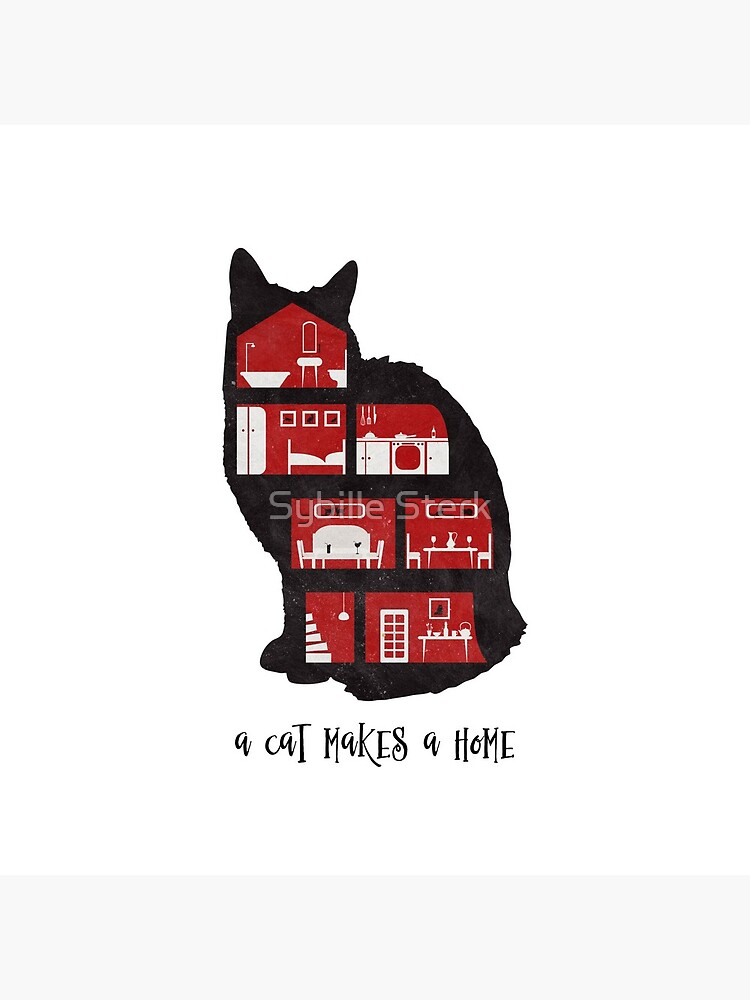 A cat makes a home by MagpieMagic