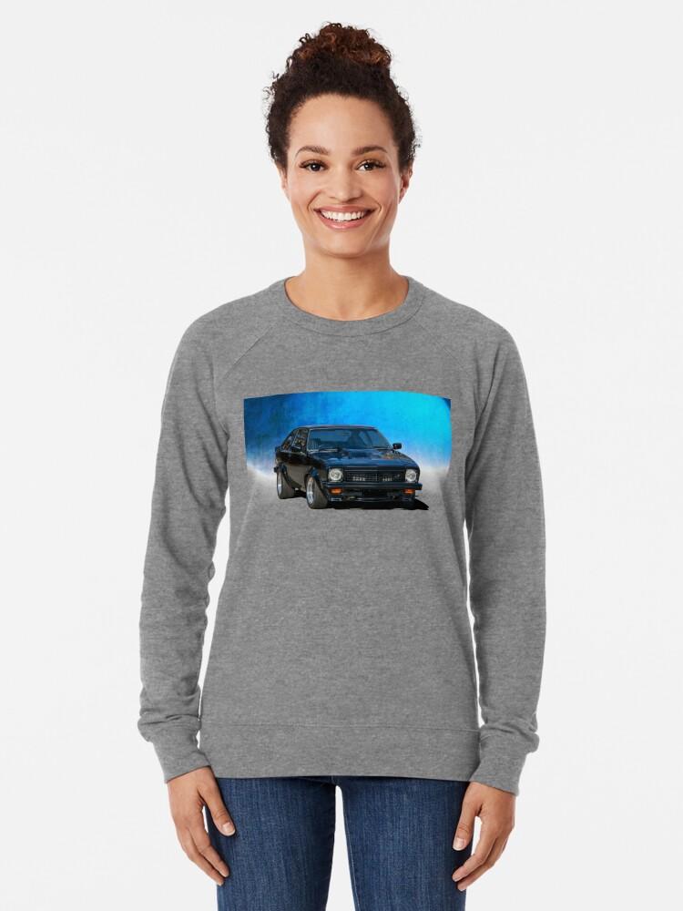 Alternate view of Black Torana SS Hatchback Lightweight Sweatshirt