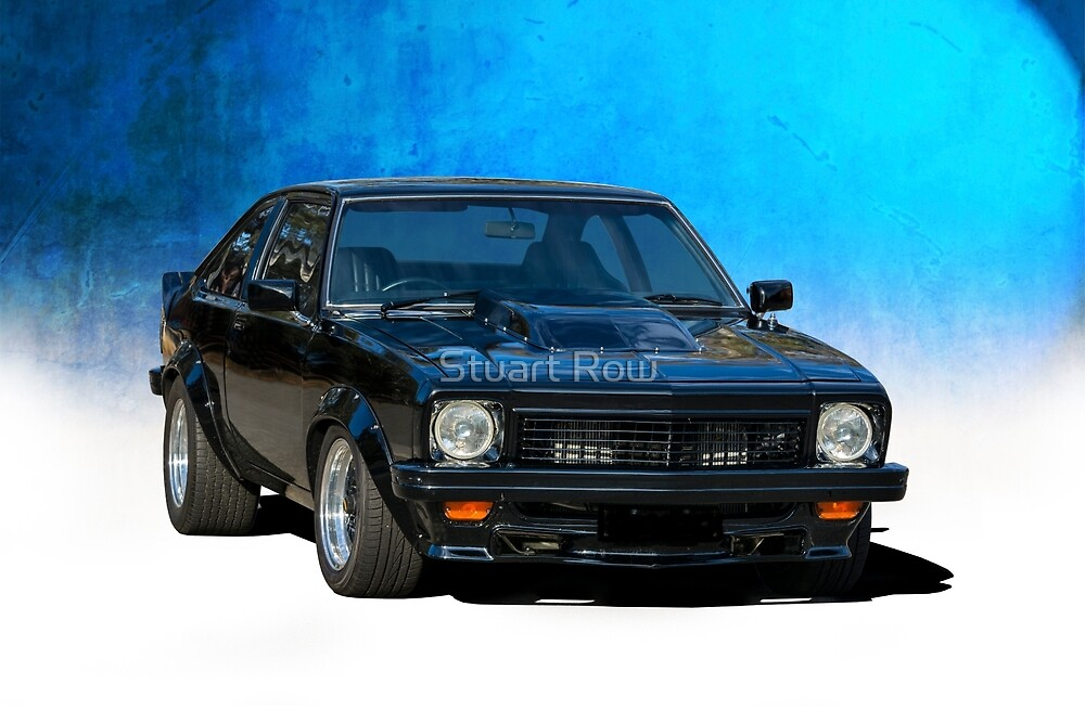 Black Torana SS Hatchback by Stuart Row