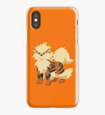Arcanine Pokemon Simple No Borders iPhone Case