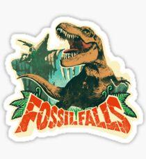 Fossil Falls - Cascade Kingdom (Super Mario Odyssey) Sticker