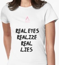 ANGEL Real Lies Collection Women's Fitted T-Shirt