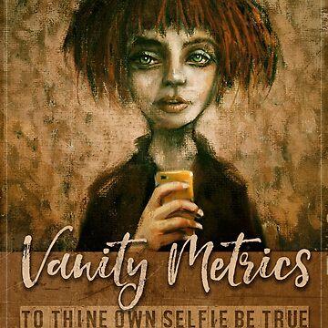 Vanity Metrics (selfie) by digitaldog