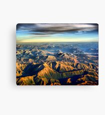 New Zealand Southern Alps Canvas Print