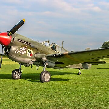 Curtiss P-40M Warhawk 43-5802 G-KITT by oscar533