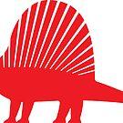 Minimalistic Dimetrodon by David Orr