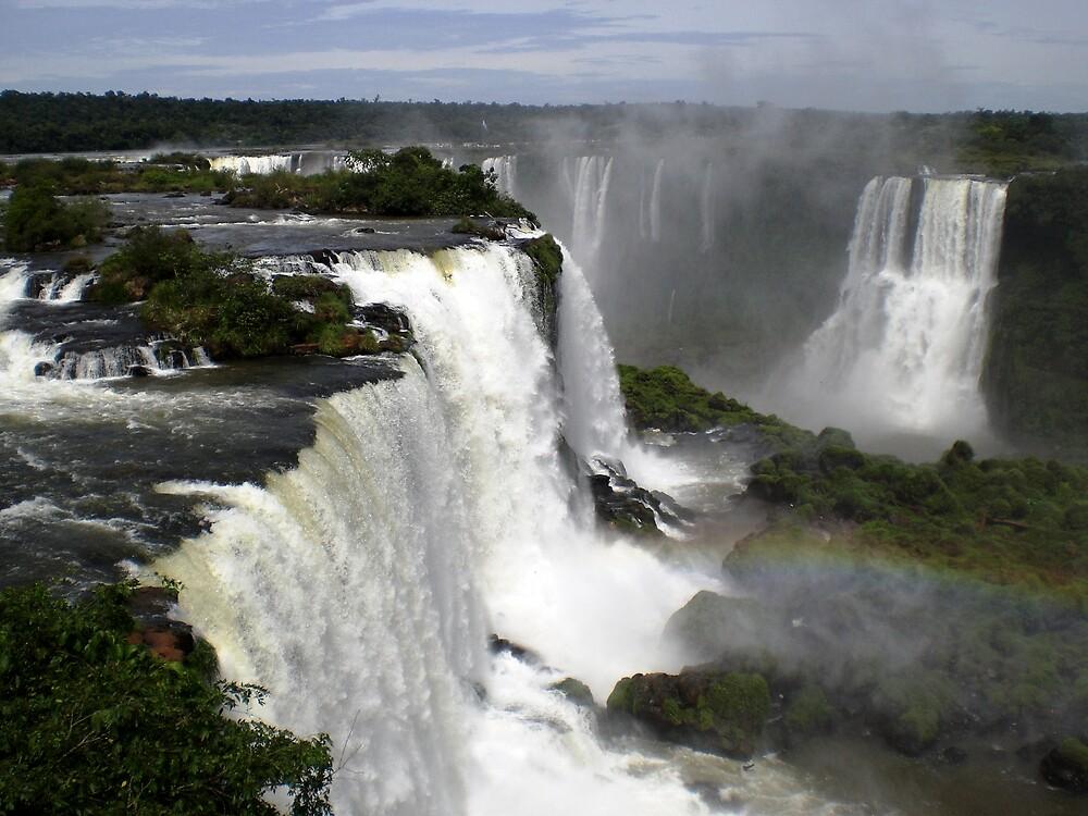 Iguassu Falls by michellematho
