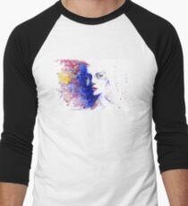 Face Face Watercolor Men's Baseball ¾ T-Shirt