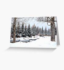 Breckenridge Winterland Greeting Card