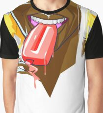 Summer Fun With Ice Cream Graphic T-Shirt