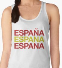 Spain Flag Espana ! Spain Espana ES Women's Tank Top