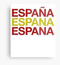 Spain Flag Espana ! Spain Espana ES Metal Print