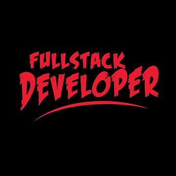 Fullstack developer by dmcloth