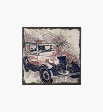 Classic vehicle Art Board