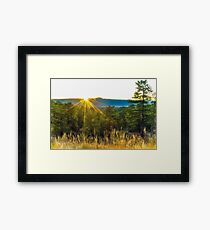 Colorado Sunrise Framed Print