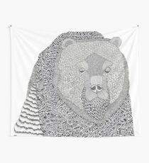 Where Bear Wall Tapestry