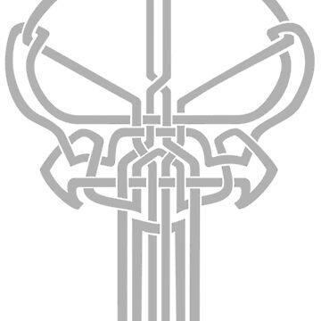 Norse Skull by lewckuss