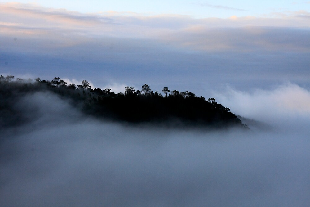 Silouette in the Clouds by Jeff Harris