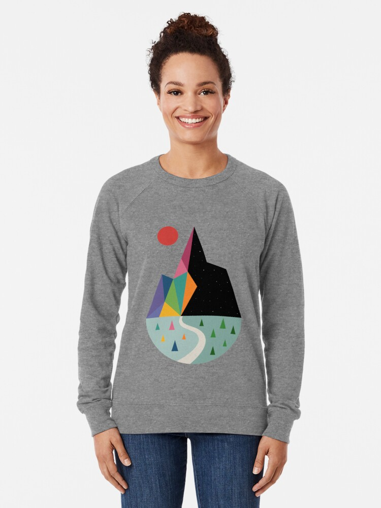 Alternate view of Bright Side Lightweight Sweatshirt