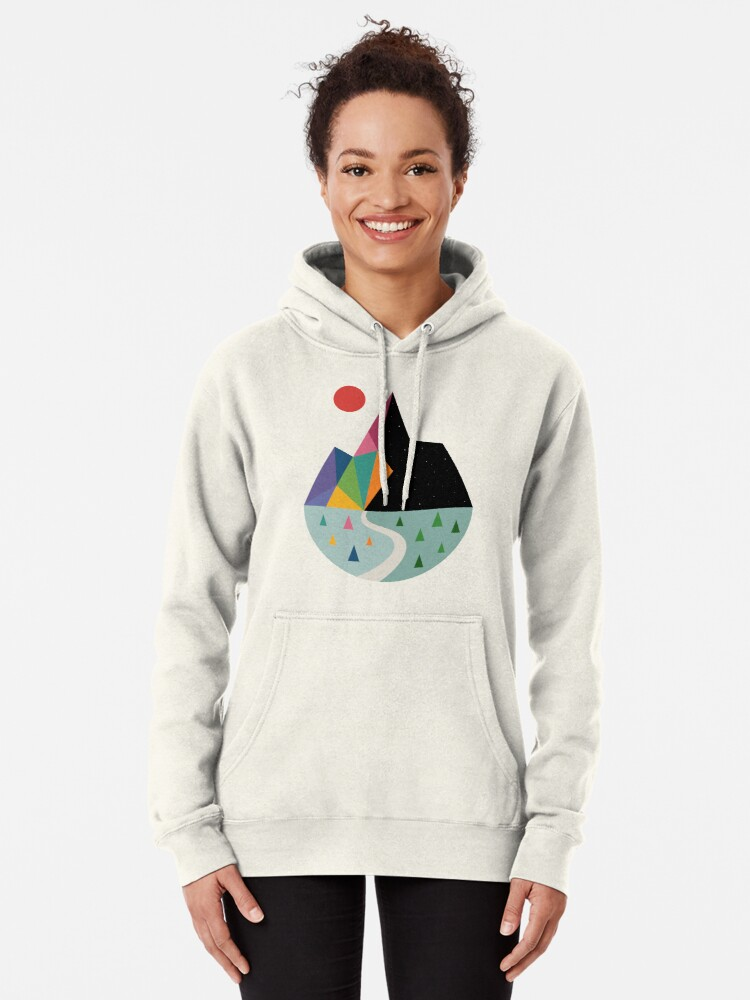 Alternate view of Bright Side Pullover Hoodie