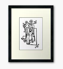 The Time Traveller's Adventure Framed Print