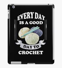 Crochet Crocheting iPad Case/Skin